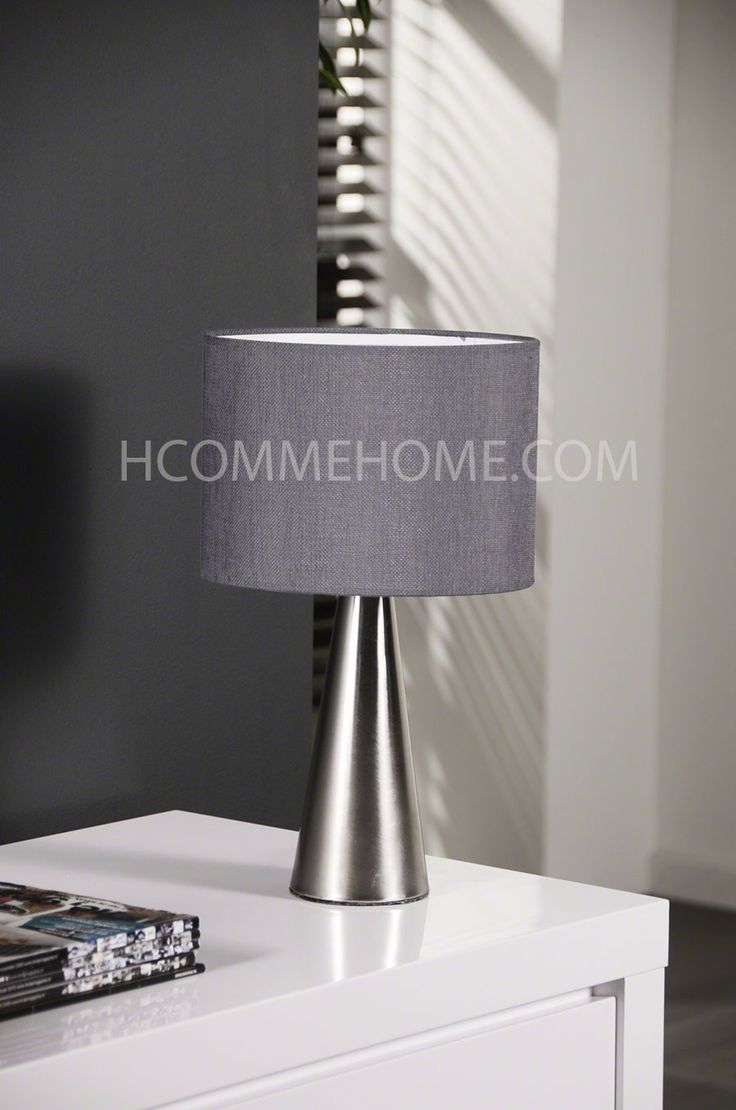 1000 images about luminaires design on pinterest for Lampe a poser grise