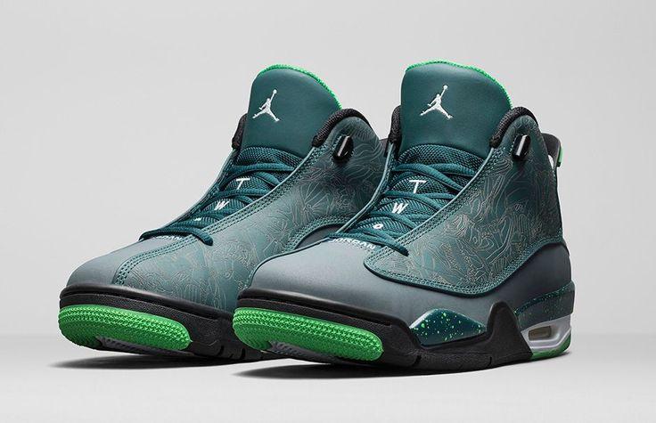 The Nike Air Jordan Dub Zero launches in 10 minutes http://thesolesupplier.co.uk/products/nike-air-jordan-dub-zero-teal/