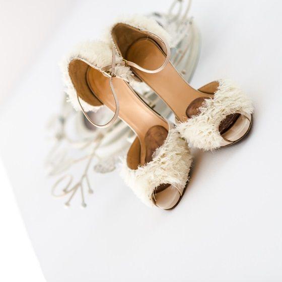 Sandale de vara pentru mirese