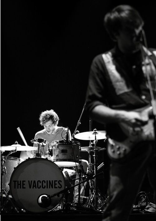 The Vaccines- opened for Mumford and sons last night. they were soooo good!!! British punk bands are the best. ;)