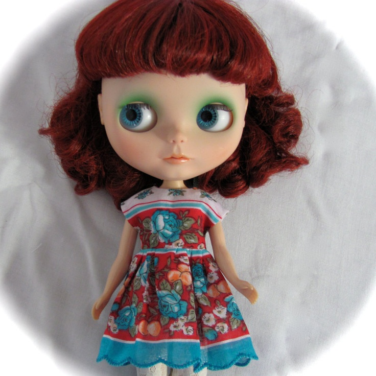 Super cute! From BlytheStar store on Etsy.
