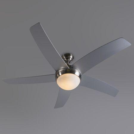 Ventilador De Techo COOL 52 Acero #deco #diseño #interiorismo
