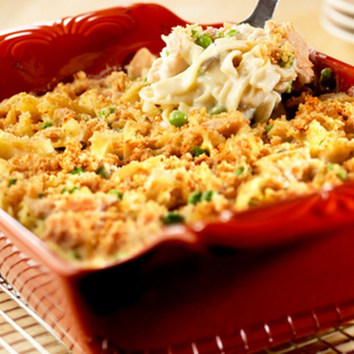 Crowd Pleasing Tuna Noodle Casserole Recipe Main Dishes With Campbell S Condensed Cream Of