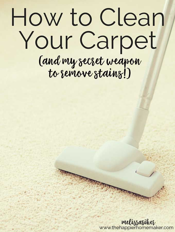 Learn How To Clean Carpet How To Easily Remove Pet Hair