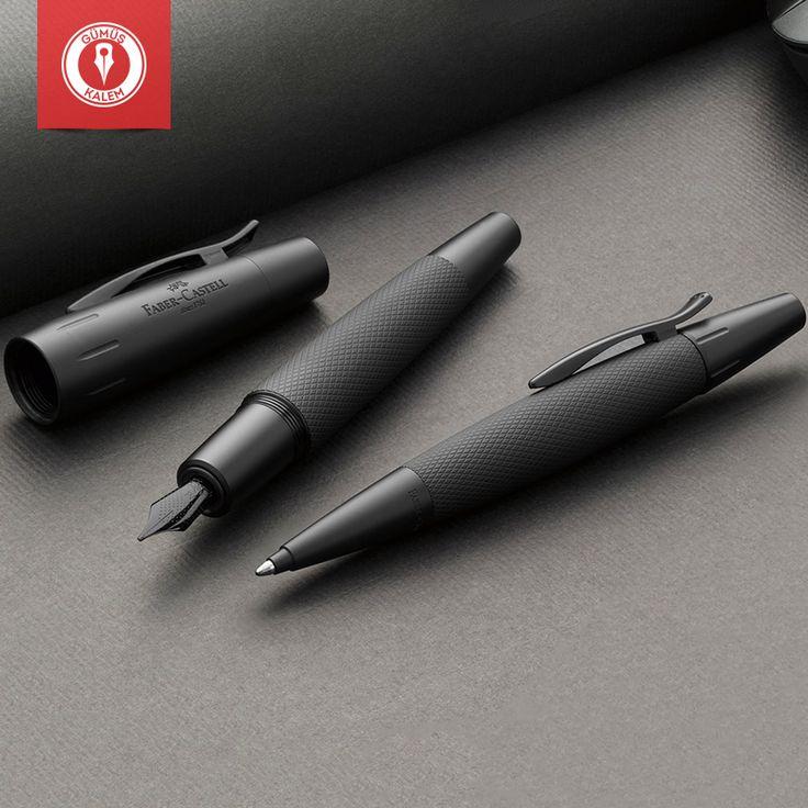 Mükemmel bir yeni yıl hediyesi olsun diyenler için Faber Castell yüksek kaliteli E Motion Pure Black Kalemler Gümüş Kalem mağazalarında.
