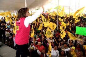 Voz de Mujer : En Tlaxcala, según las encuestas, la candidata del...