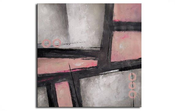ABSTRACT PAINTING - Original Canvas Art Contemporary Abstract Modern Art  . 32x32  inch abstract wall art