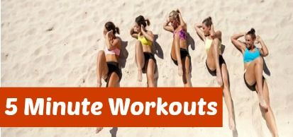 5 MInute workouts - small workouts, big changes! http://www.bufnewcastle.com.au/blog/post/2014/02/11/5-Minute-Workouts-Small-Efforts-Big-Changes.aspx