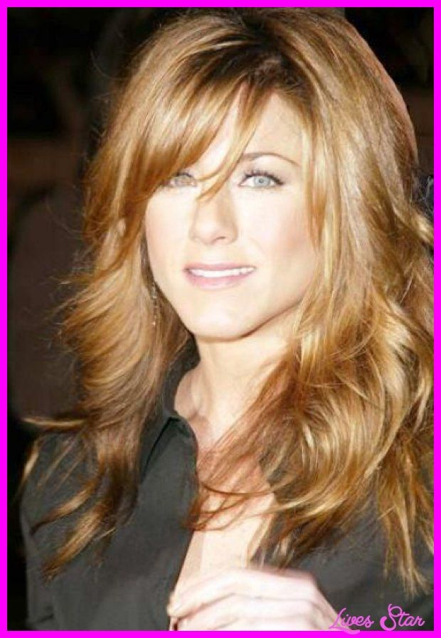 Long Hairstyles With Layers And Side Swept Bangs2g My Style