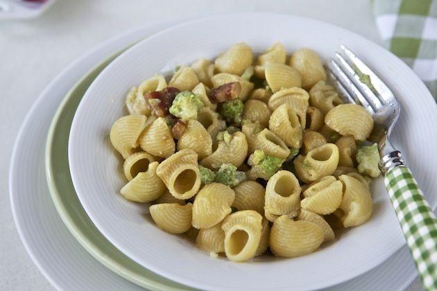 Lumachine con broccolo, pecorino e pancetta affumicata per il #molisecalling