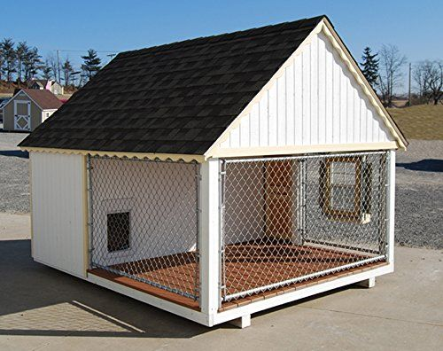 Little Cottage Company Victorian Cozy Kennel Panelized Playhouse Kit, 8′ x 10′ | Dog Supplies - Warning: Save up to 87% on Dog Supplies and Dog Accessories at Our Online Pet Supply Shop