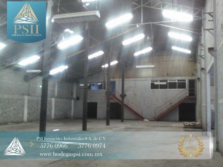 CARACTERÍSTICAS: 1,250 m2. de superficietotalmente techada 200 m2 de patio 125 m2 oficinas en planta alta medidas aproximadas: 25 mts. frente x 50 mts. fondo baños empleados entrada para camión luz monofasica altura minima de 5.50 a 6.00 mts. piso de cemento techado de lámina galvanizada y traslucida PRECIO DERENTA: $42 ,000 mensuales mas i.v.a. REQUISITOS: 2 meses de renta como depósito 1 mes de renta corriente fianza o fiador UBICACIÓN: industrial cerro gordo, ecatepec de morelos, edo. de…