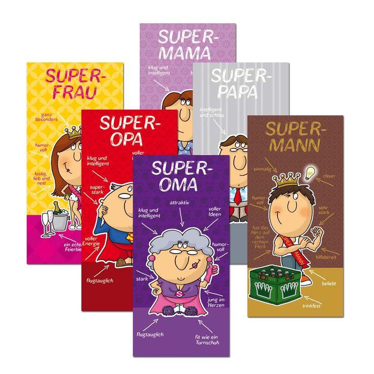 Du bist super Schokolade | Geschenkidee.de