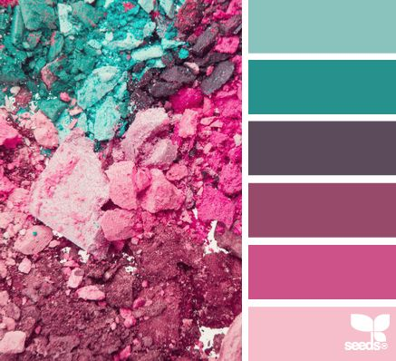 powdered palette, color love