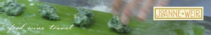 Joanne Weir food wine travel: grilled potato salad recipe