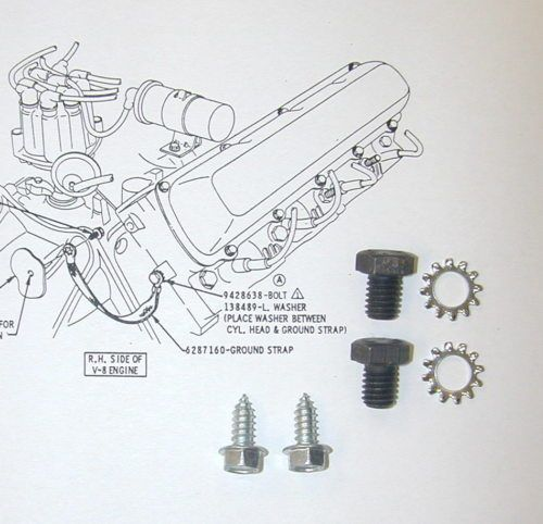 details about 68 69 70 71 72 cutlass 442 w 30 w 31 ground bolts hardware
