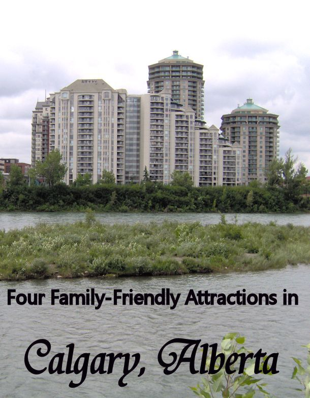 Don't miss these 4 must-experience family friendly attractions in Calgary, Alberta!