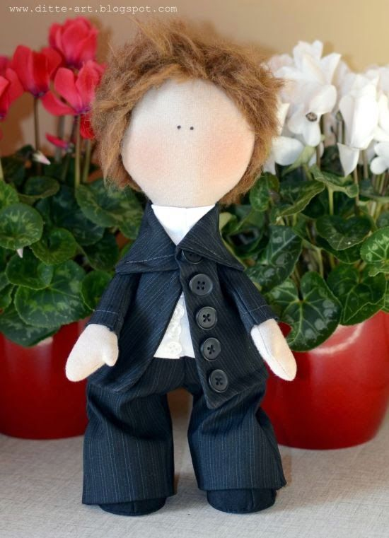 ditte-art.blogspot.com , rug doll, handmade