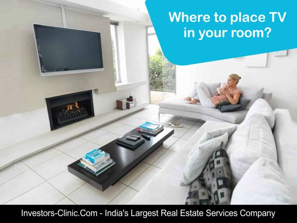 More than 90% of the households in #India own a television. But do you ever contemplate over where to place TV in your room?