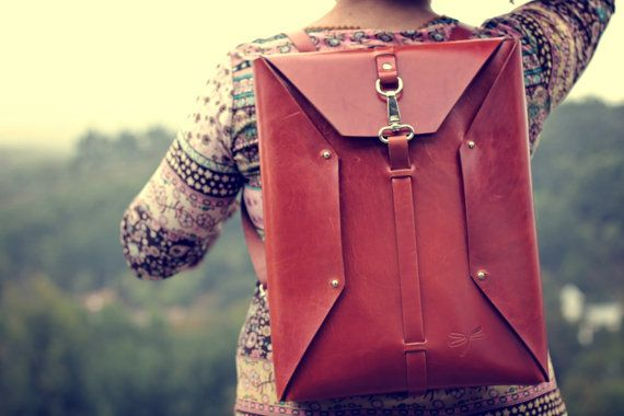 Original design Ludena handmade backpack in strong and от Ludena