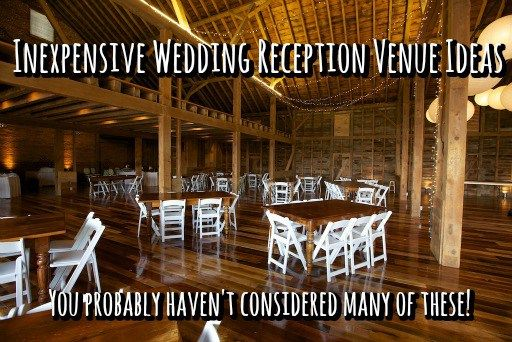 Inexpensive Wedding Reception Venues LoveandBouquets.com