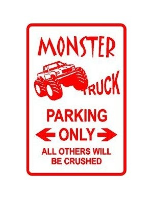 monster truck parking would b cool n boys room