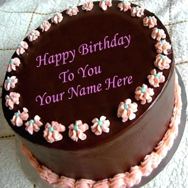 Birthday Cake For Lover With Name Packed With Write Name On