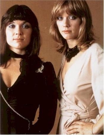 Ann and Nancy Wilson, girls who are the band!