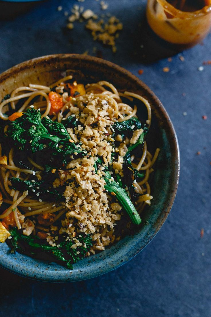 fall pasta is filled with roasted butternut squash and broccoli rabe ...