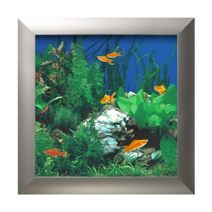 Wall Aquarium Whitestone Silver, $280, now featured on Fab.