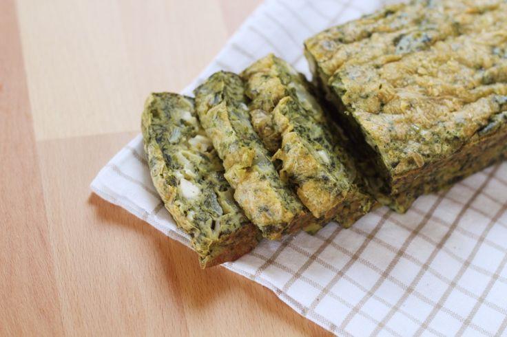 Recept: Spinazie cake met geitenkaas!