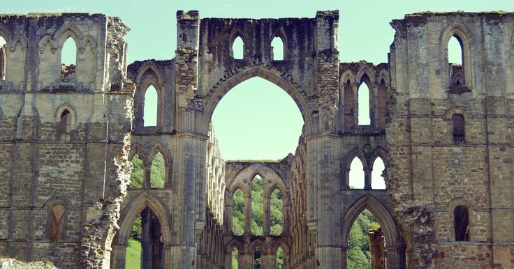 Rievaulx Abbey England - Photograph by Nathan Walker