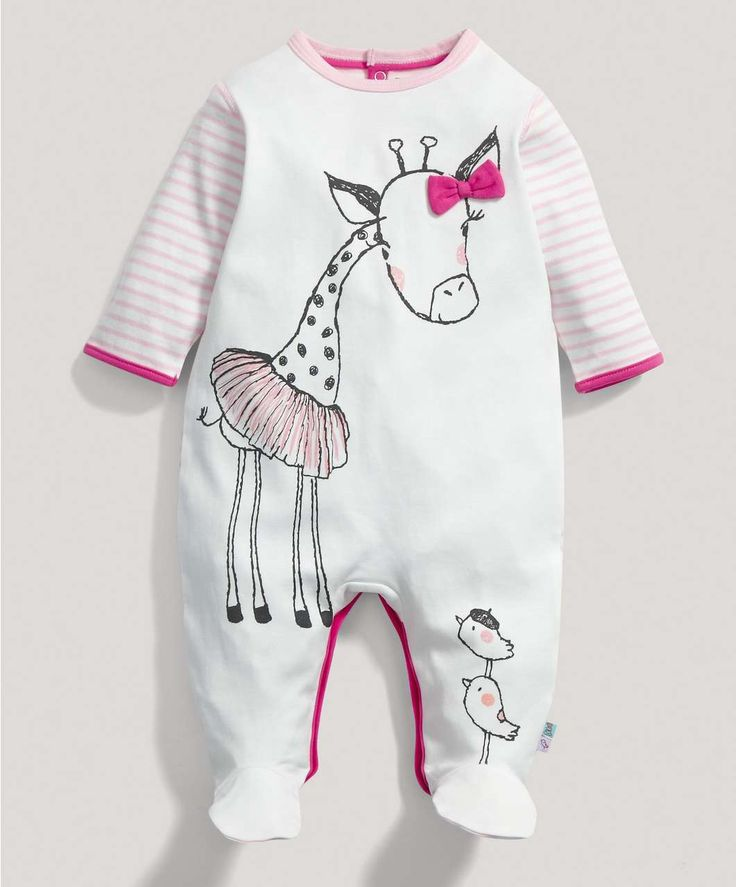 Girls Graphic All in One - All In Ones - Mamas & Papas
