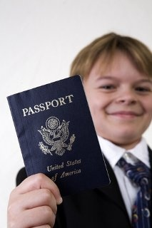 passports for the boys