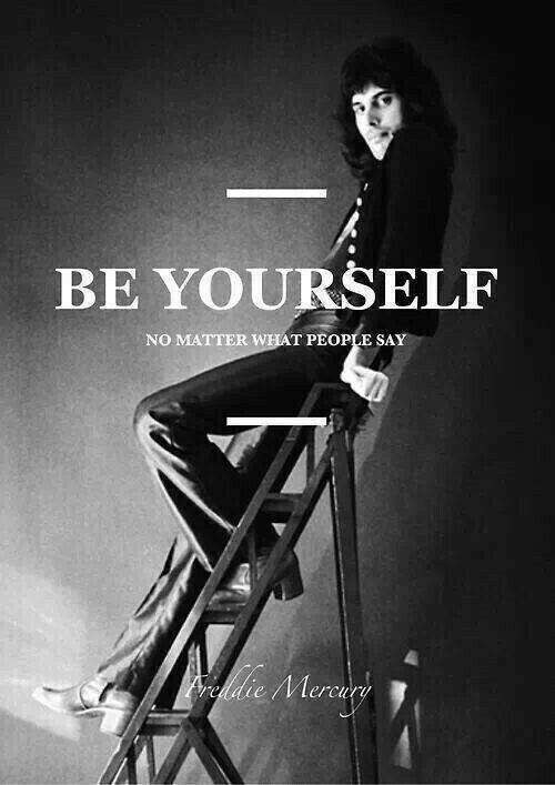 Bud sám sebou nestaraj sa o to čo si druhí myslia