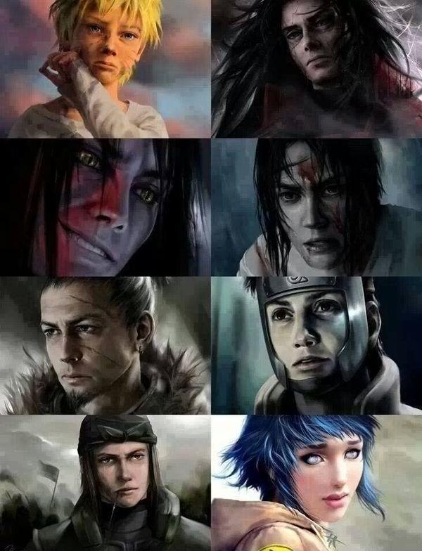 Amazing Naruto Fan Art.