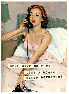 G'morning - Sleep deprived. #retro #humor #sassy