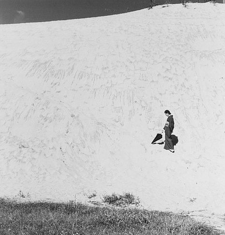 He was known as a 'sedentary adventurer', spending much of his life shooting the sand dunes right by his house. But when the Japanese master photographer died, 5,000 unseen pictures came to light. Every one is a stunning surprise