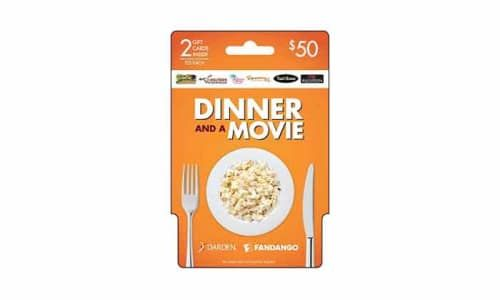 Best dinner and a movie