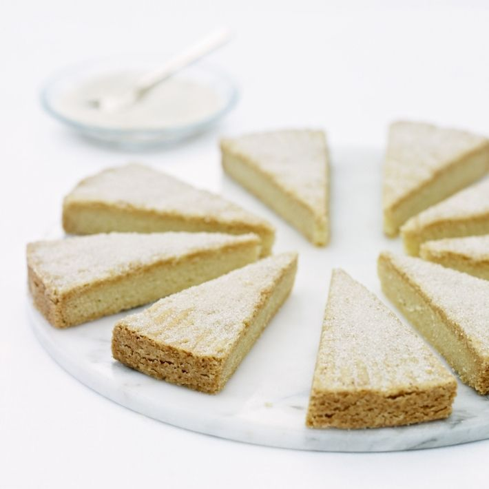 Cakes semolina shortbreads