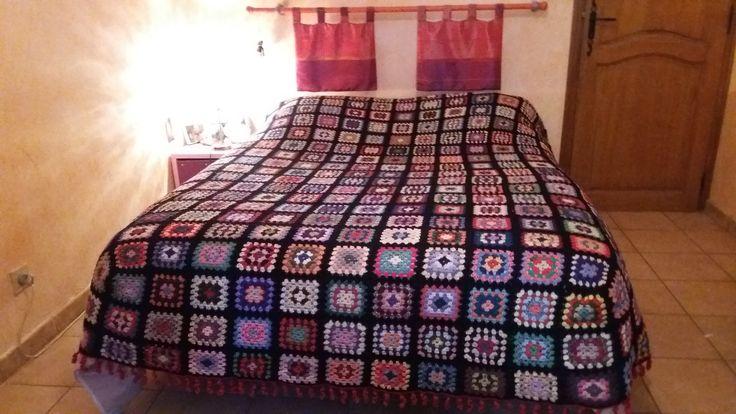 les 20 meilleures id es de la cat gorie couvre lit en crochet sur pinterest mod le de couvre. Black Bedroom Furniture Sets. Home Design Ideas