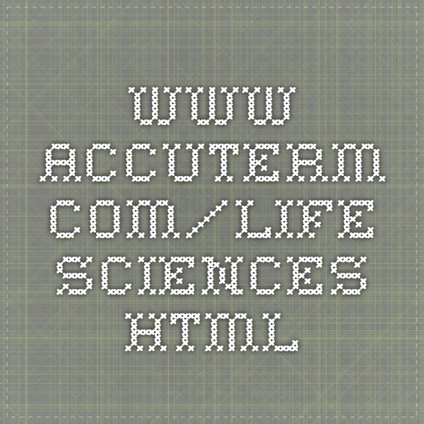 Www Accuterm Com Life Sciences Html Human Body Systems