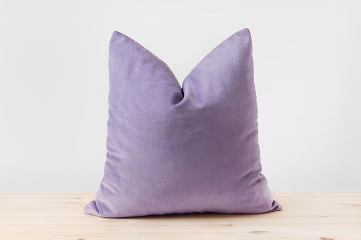 Lilac Purple Velvet Pillow Cover Pastel Purple Cushion Lavender Purple Pillows Cotton Velvet Lumbar Pillow Light Purple Throw Pillows by Esnelle on Etsy https://www.etsy.com/listing/246824733/lilac-purple-velvet-pillow-cover-pastel