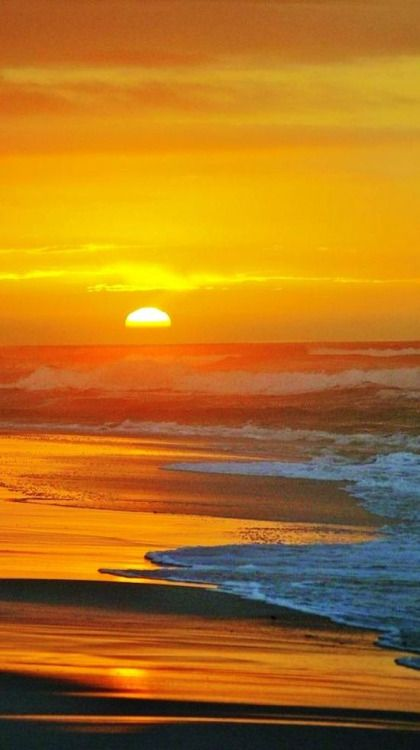 Beach Sunrise. Picture yourself waking up to this gorgeous view from your bedroom! In Palm Coast and Flagler Beach this amazing view is still affordable.