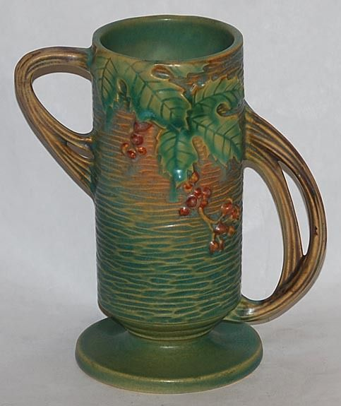 Roseville Pottery Bushberry Green