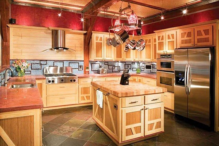 barn red kitchen cabinets 41 best images about barn log home on 10930