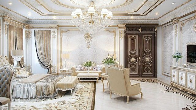 Floor Design Ideas By Luxury Antonovich Design Online Interior Design Classic Bedroom Design Design Your Dream House