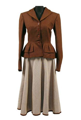 Eva Peron , Luis Agostino Two-Piece Suit