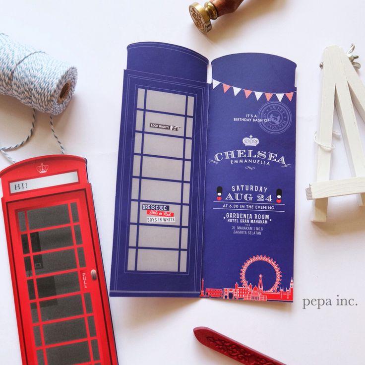 London invitation