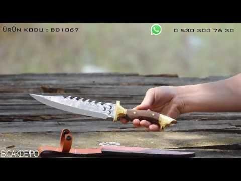 Üç Hilalli Kurtbaş bıçak - YouTube